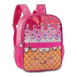 Mochila Infantil Candy Truck - Sorvete - Original - Clio