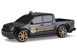 Pick-up Vision Federal Polícia- Roma Brinquedos