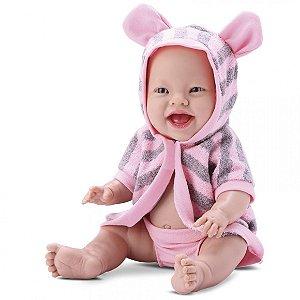 Boneca Baby Babilina Banho 34cm - Inteira em Vinil - Bambola