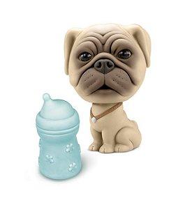 Cachorro Bebê Canino c/ Mamadeira - Roma
