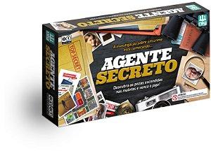 Jogo Agente Secreto - Investigação Detetive - Tabuleiro- Nig