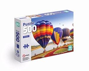 Quebra Cabeça Puzzle - Balões - C/ 500 Peças - Nig