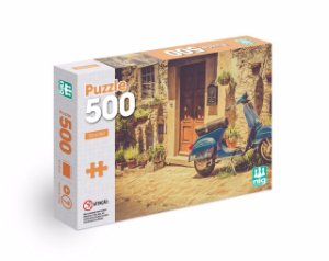 Quebra Cabeça Puzzle - Scooter - C/ 500 Peças - Nig