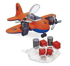 Avião Brinquedo Explorer Time Resgate- C/ Acessórios - Usual