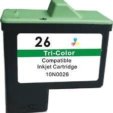 Cartucho de Tinta Lexmark 27 10N0227 Colorido | X75 Z35 Z33 Z23 Z25 Z13 | Compatível 11ml