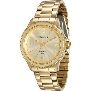 Relógio Feminino Seculus Analógico Fashion 28673LPSVDA1