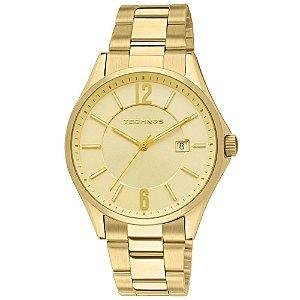 Relógio Technos Dourado Analógico 2115TF/4X