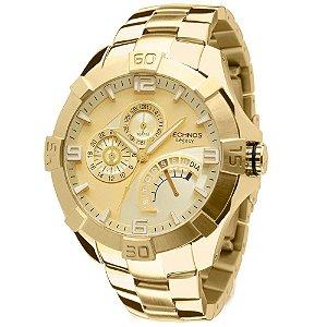 Relógio Technos Legacy Masculino Multifunção JR00AH/4X DOURADO