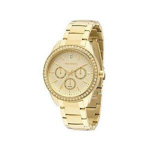 Relógio Technos Ladies Feminino Multifunção - 6P29AIE/4X - dourado
