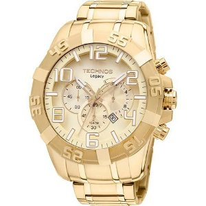 Relógio Technos Masculino Legacy Os20ik4x-Dourado