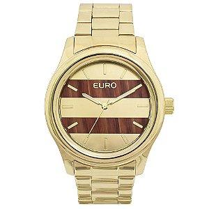 Relógio Euro Feminino Madeira Fashion EU2036MAA/4L