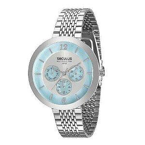 Relógio Seculus Feminino 20541l0svns2 Multe Funçõe