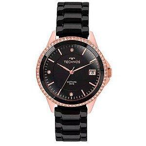 Relógio Technos Feminino Pulseira em Cerámica 2315KZR/4P