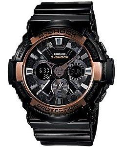 Relógio Casio G- Shock Anadigi Masculino Referencia GA-200RG-1A