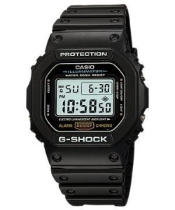 Relógio Casio G- Shock  Serie Prata  Masculino DW5600E-1