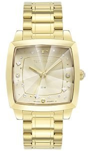 Relógio Technos Feminino Crystal Dourado - 2036MNG/1X