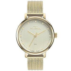 Relógio Technos Style Feminino Dourado 2035MSU/1K