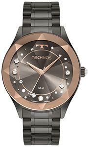 Relógio TECHNOS Feminino Crystal 2036MNE/1C