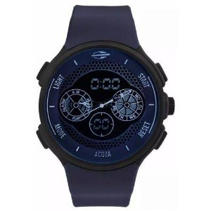 Relógio Mormaii Masculino Acqua Mo1608b/8c Azul Anadigi