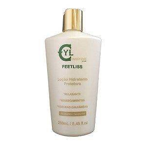 Feetliss - Hidratação e proteção  p/ pés e calcanhares com fissuras ou ressecados