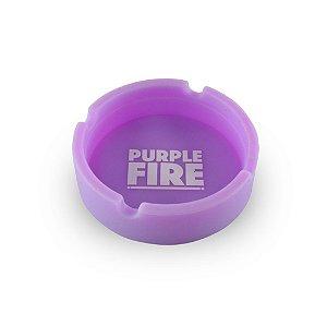Cinzeiro de Silicone Purple Fire Roxo