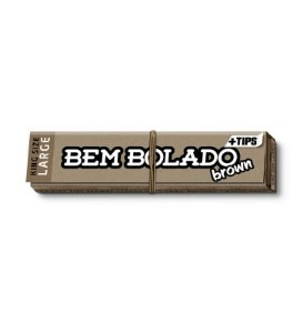 SEDA BEM BOLADO BROWN KS LARGE + TIPS