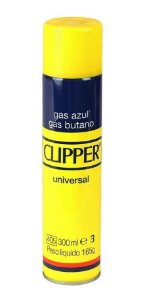 LATA GÁS BUTANO CLIPPER 300ML
