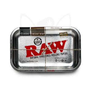 BANDEJA DE METAL RAW METALIC TRAY