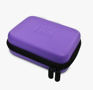 CASE PURPLE FIRE ROXA