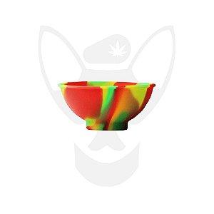 Cuia de Silicone Squadafum Reggae