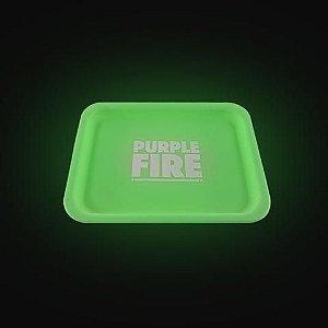 Bandeja de Silicone Purple Fire Verde
