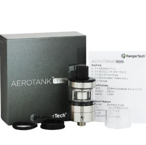 AEROTANK PLUS KangerTech™ 2ml. Cor: Silver (Prata)