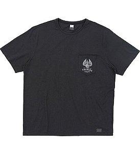 Camiseta Plus Size Chumbo c/ Bolso