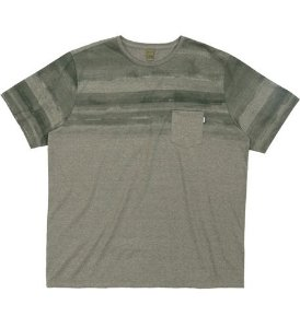 Camiseta Plus Size Verde c/ Estampa