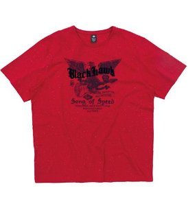 Camiseta Plus Size Vermelha c/ Estampa