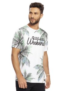 Camiseta Masculina Weekend