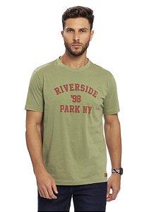 Camiseta Riverside em Verde