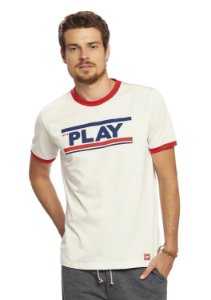 Camiseta Adulta Masculina Malha Play