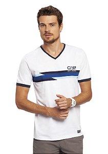 Camiseta Masculina Esportiva Decote V