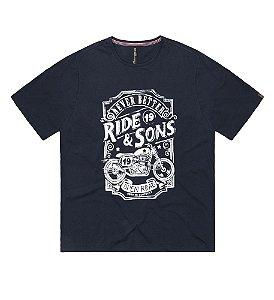 Camiseta Plus Size Masculina Biker