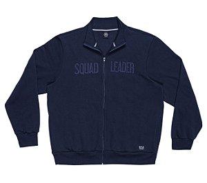 Jaqueta em Moletom Masculina Plus Size