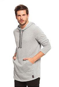 Blusão Masculino em Moletinho com Capuz