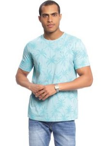 Camiseta Masculina Adulta com Estampa Full Print de Palmeiras