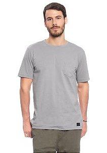 Camiseta Masculina Adulta com Bolso