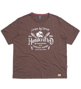Camiseta Masculina Plus Size