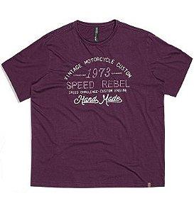 Camiseta Masculina Plus Size Estampada