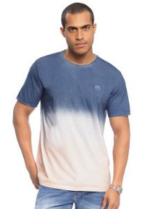 Camiseta Masculina Adulta com Estampa Estilo Tie Dye
