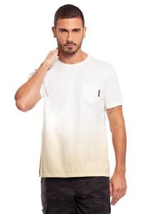 Camiseta Masculina c/ Efeito Degradê