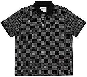 Camisa Polo Plus Size Estampada