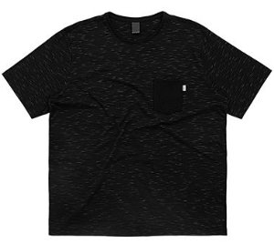 Camiseta Plus Size Masculina com Bolso